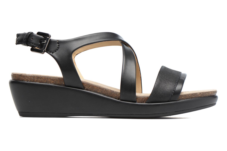Sandales et nu-pieds Geox D ABBIE A D72P6A Noir vue derrière