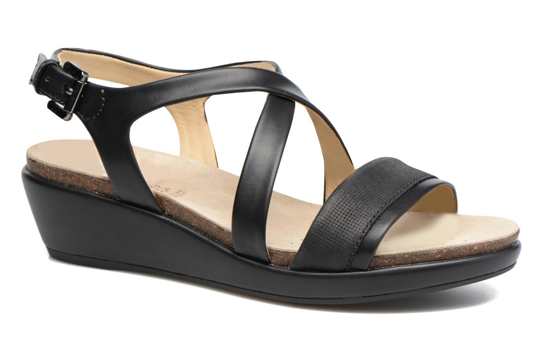 Sandales et nu-pieds Geox D ABBIE A D72P6A Noir vue détail/paire