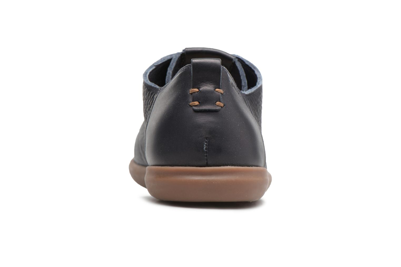 Sneaker Geox U NEW DO B U620QB blau ansicht von rechts