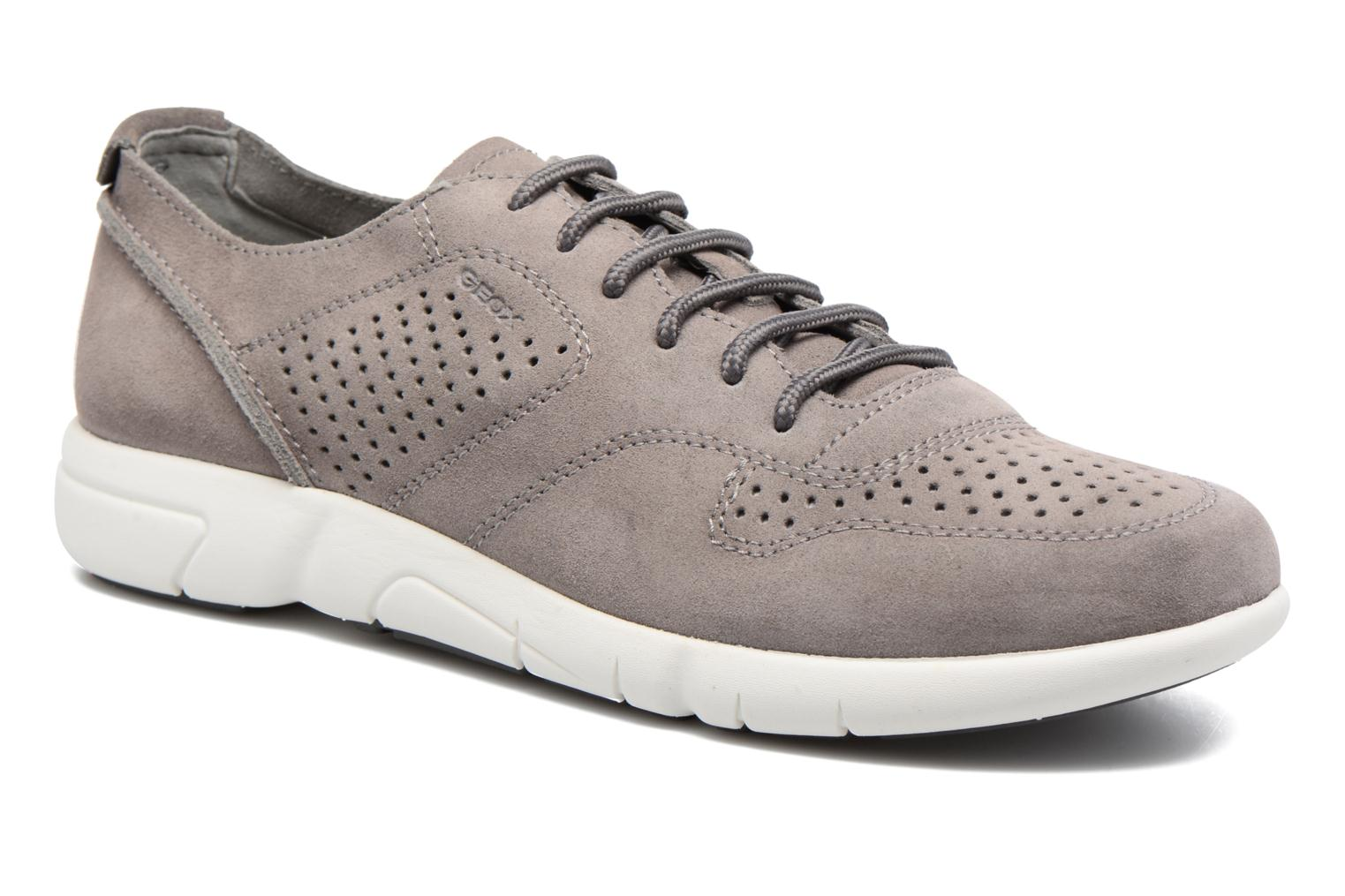 Sneaker GEOX U BRATTLEY A Color Grigio