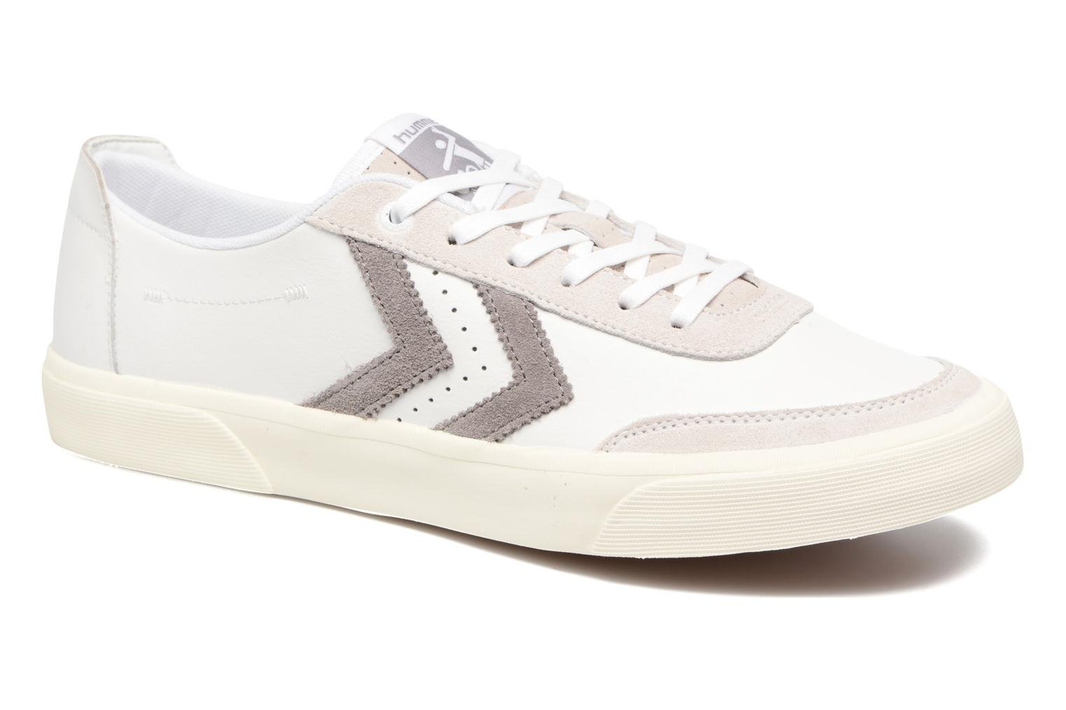 Sneakers Hummel Stockholm Low Wit detail