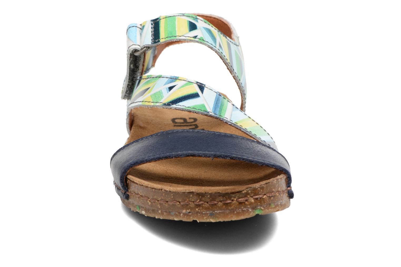 Sandales et nu-pieds Art Creta 469 Bleu vue portées chaussures