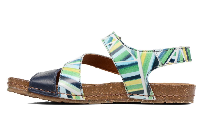 Sandales et nu-pieds Art Creta 469 Bleu vue face