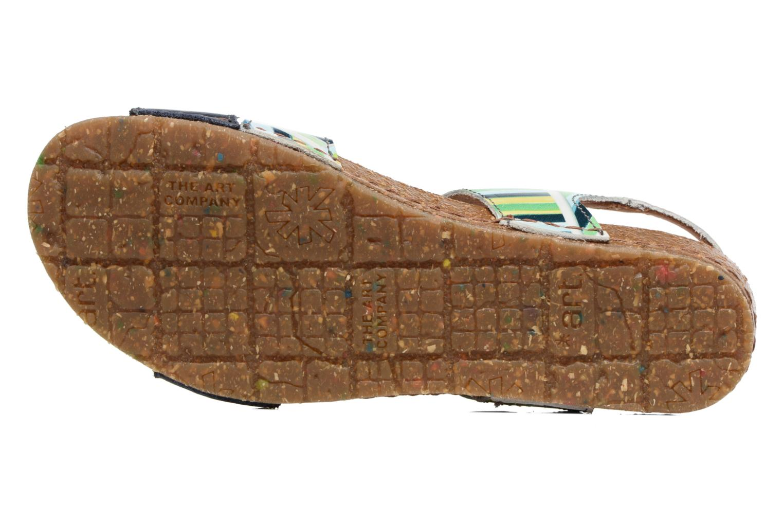 Sandales et nu-pieds Art Creta 469 Bleu vue haut