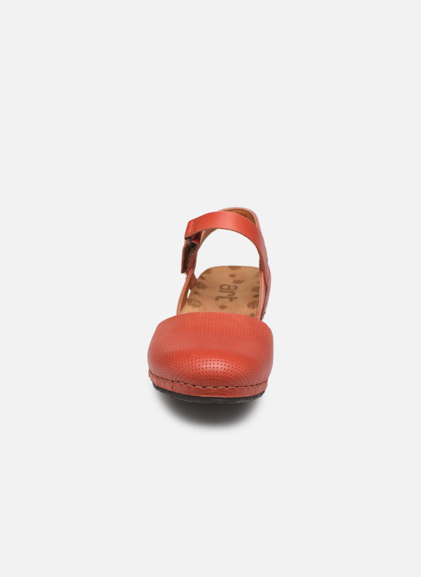 Sandales et nu-pieds Art Pompei 739 Orange vue portées chaussures