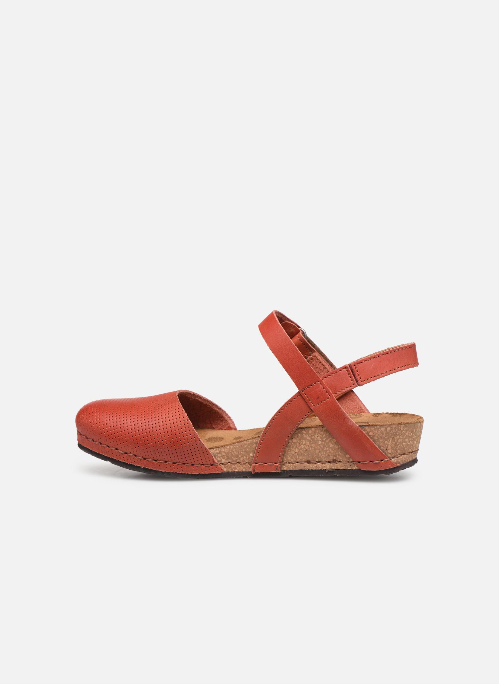 Sandales et nu-pieds Art Pompei 739 Orange vue face