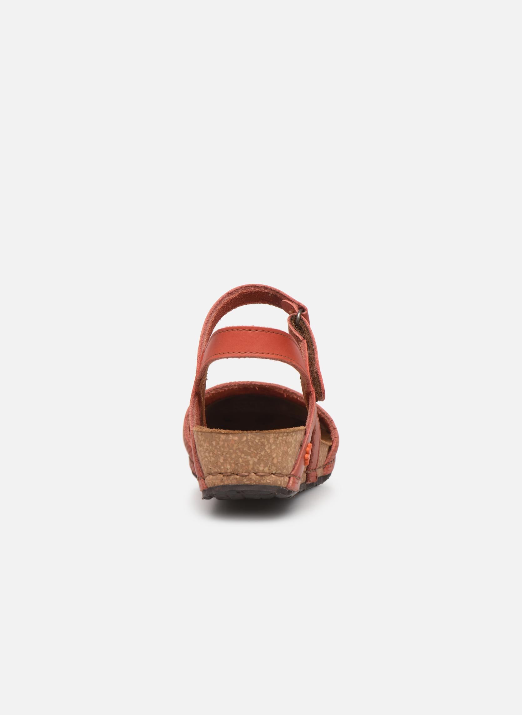 Sandales et nu-pieds Art Pompei 739 Orange vue droite