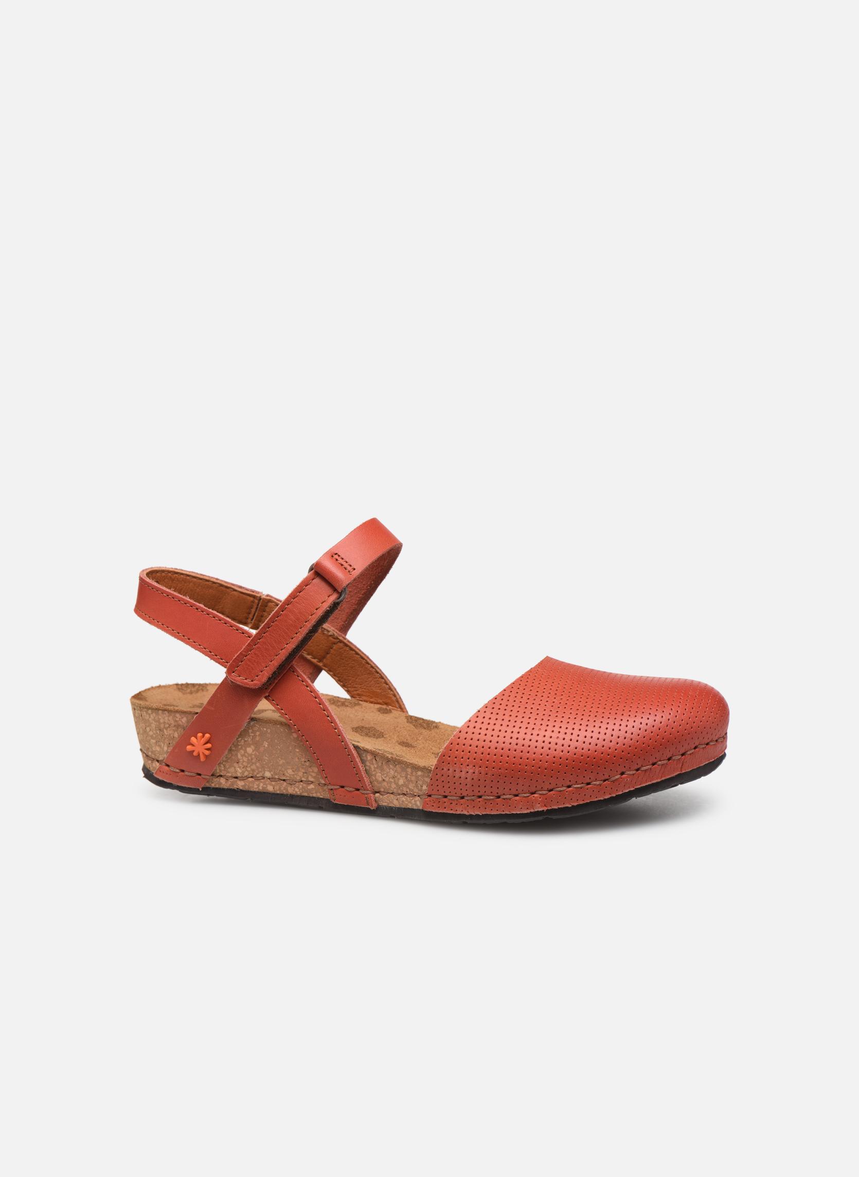 Sandales et nu-pieds Art Pompei 739 Orange vue derrière