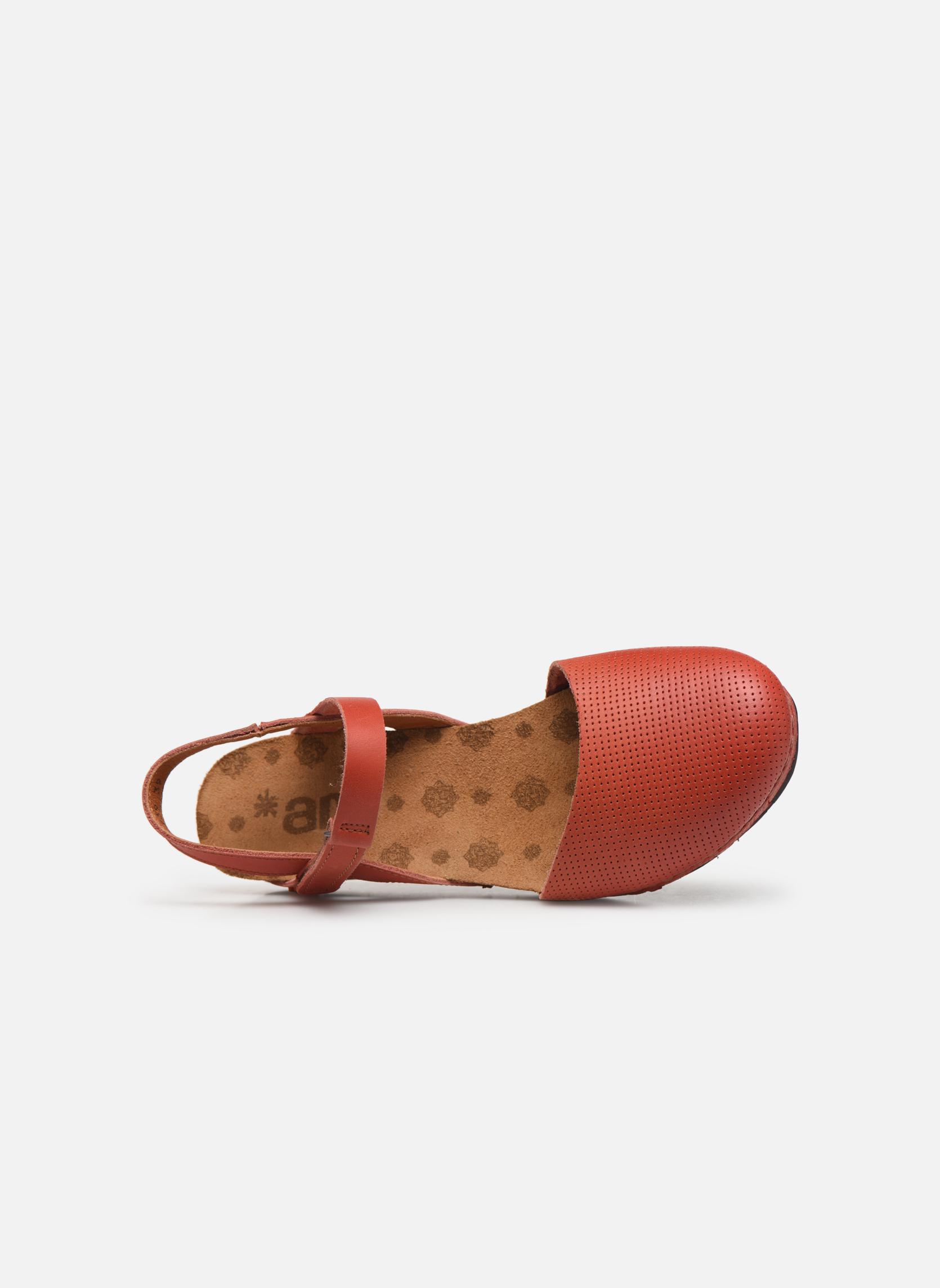 Sandales et nu-pieds Art Pompei 739 Orange vue gauche
