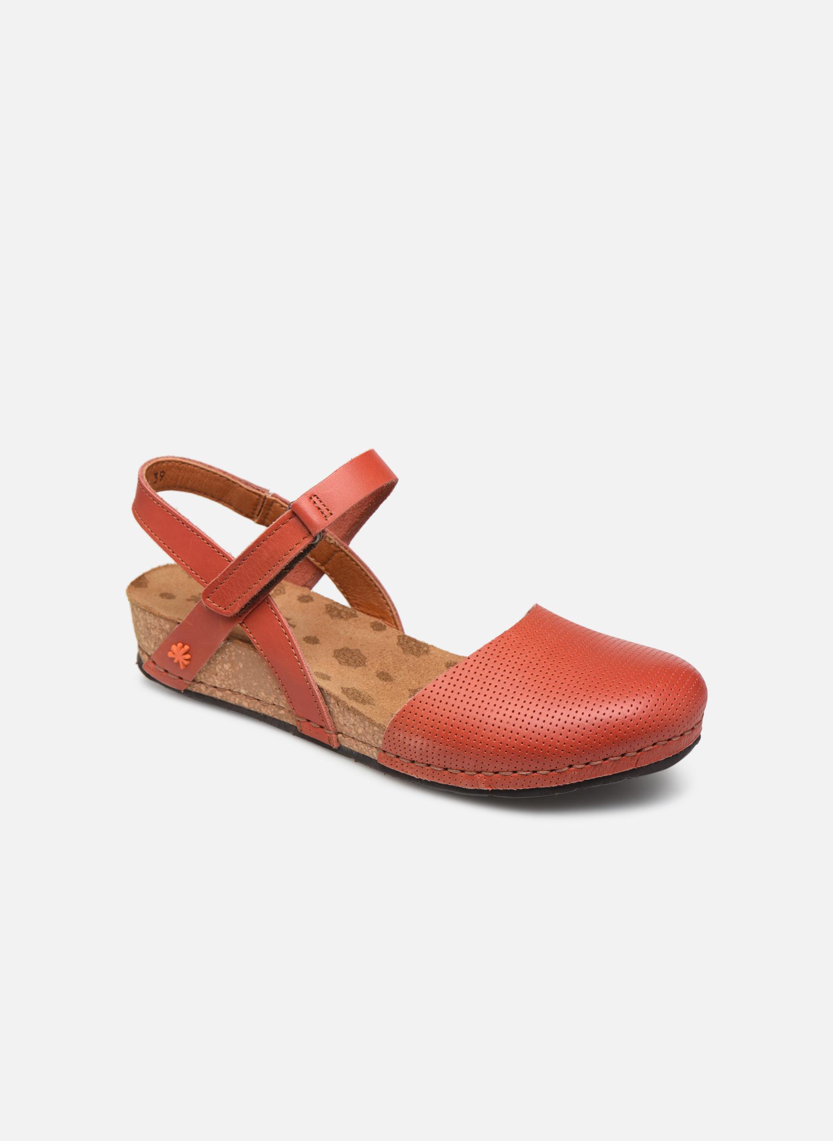 Sandales et nu-pieds Art Pompei 739 Orange vue détail/paire