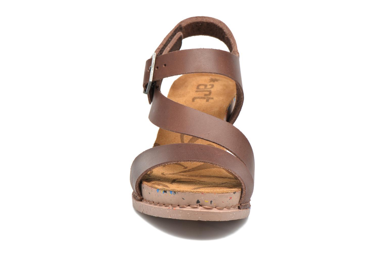 Sandales et nu-pieds Art I Laugh 1111 Marron vue portées chaussures