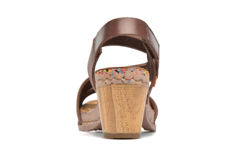 Sandales et nu-pieds Art I Laugh 1111 Marron vue droite