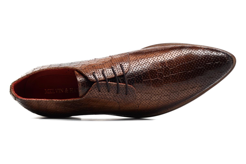 Chaussures à lacets Melvin & Hamilton Toni 11 Marron vue gauche