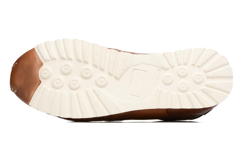 Gavin 1 Crust Crock Tan Wood Amal White