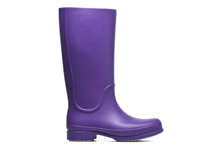 Bottes Crocs Wellie Rain Boots F Violet vue derrière