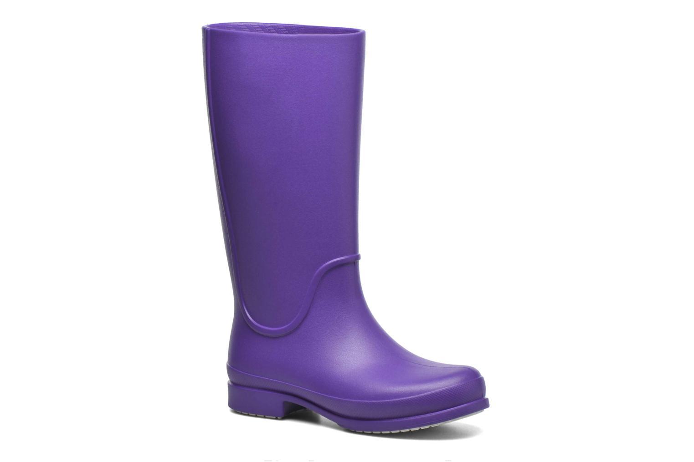 Bottes Crocs Wellie Rain Boots F Violet vue détail/paire