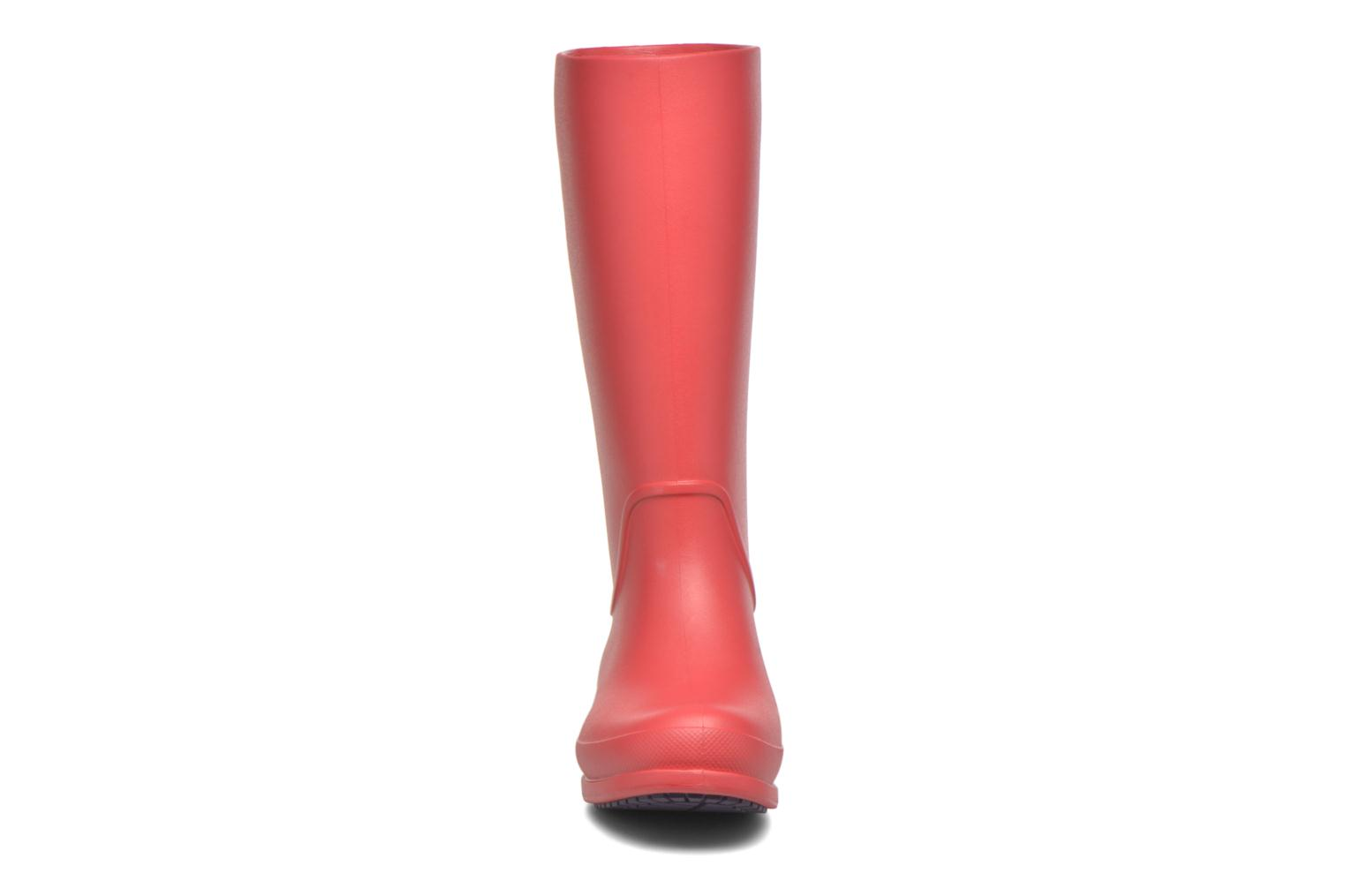 Boots & wellies Crocs Wellie Rain Boots F Red model view