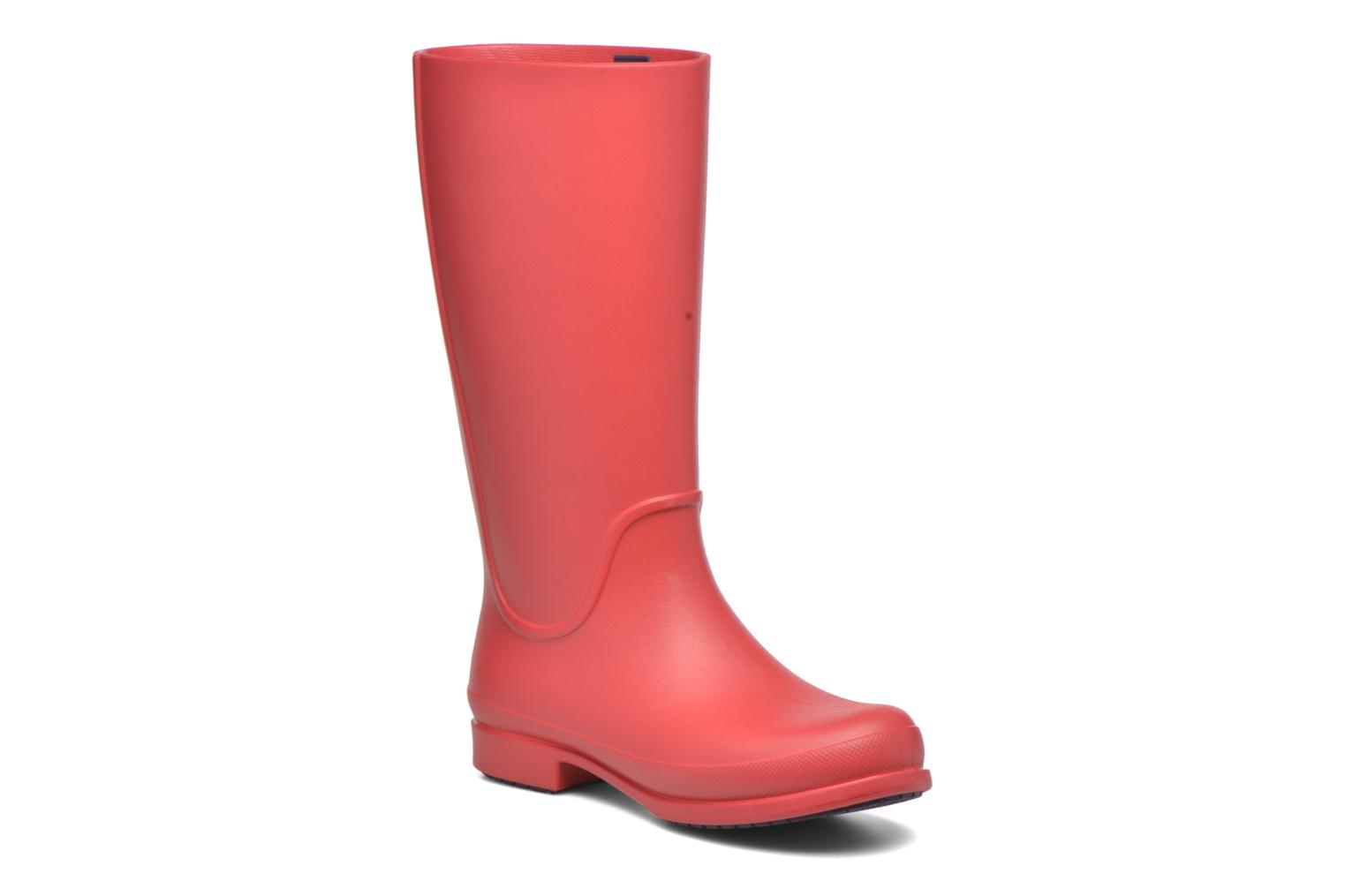 Wellie Rain Boots F Cranberry/Mulberry