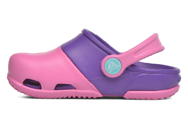 Sandales et nu-pieds Crocs Electro II Clog Rose vue face