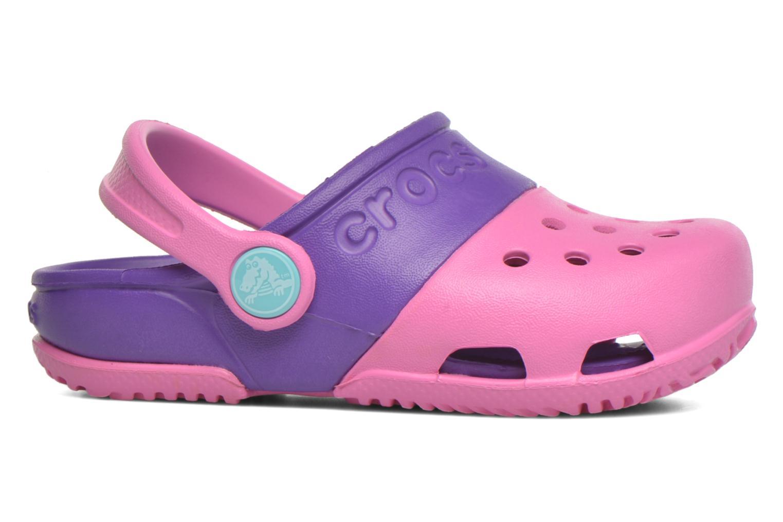 Sandales et nu-pieds Crocs Electro II Clog Rose vue derrière