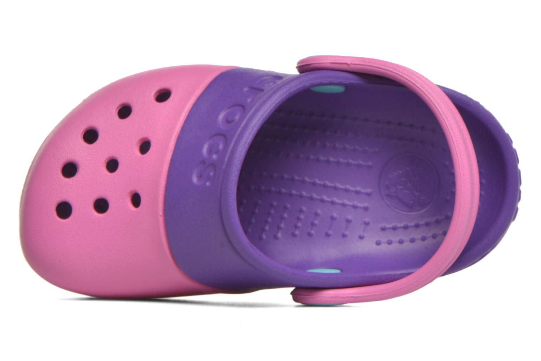 Sandales et nu-pieds Crocs Electro II Clog Rose vue gauche