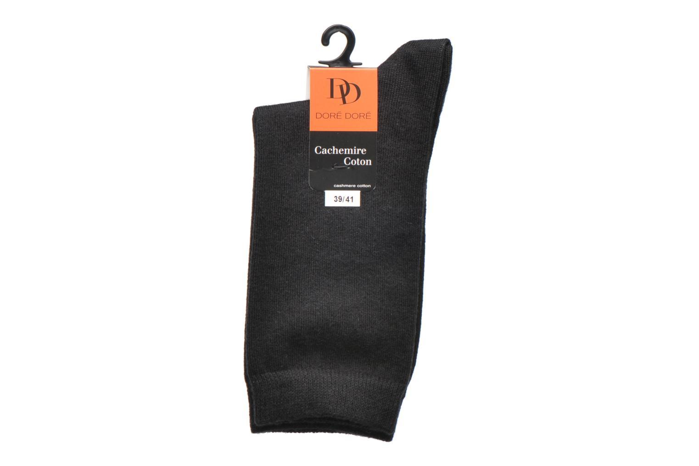 Chaussettes Femme Coton Basique 16160 NOIR