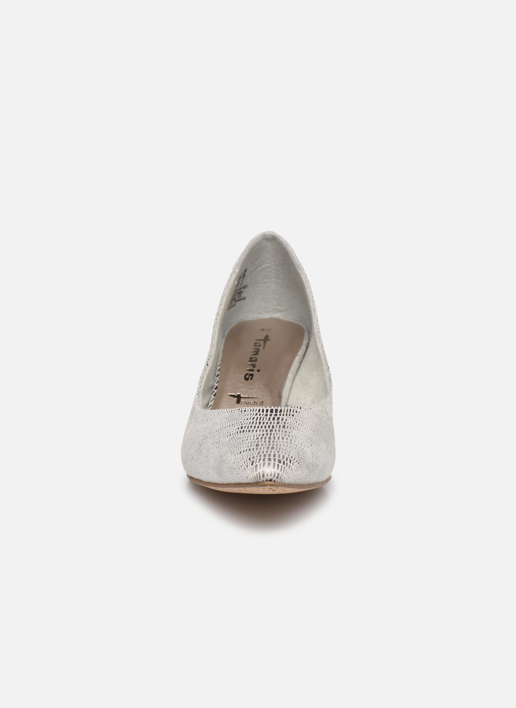 Escarpins Tamaris Glaieul Argent vue portées chaussures