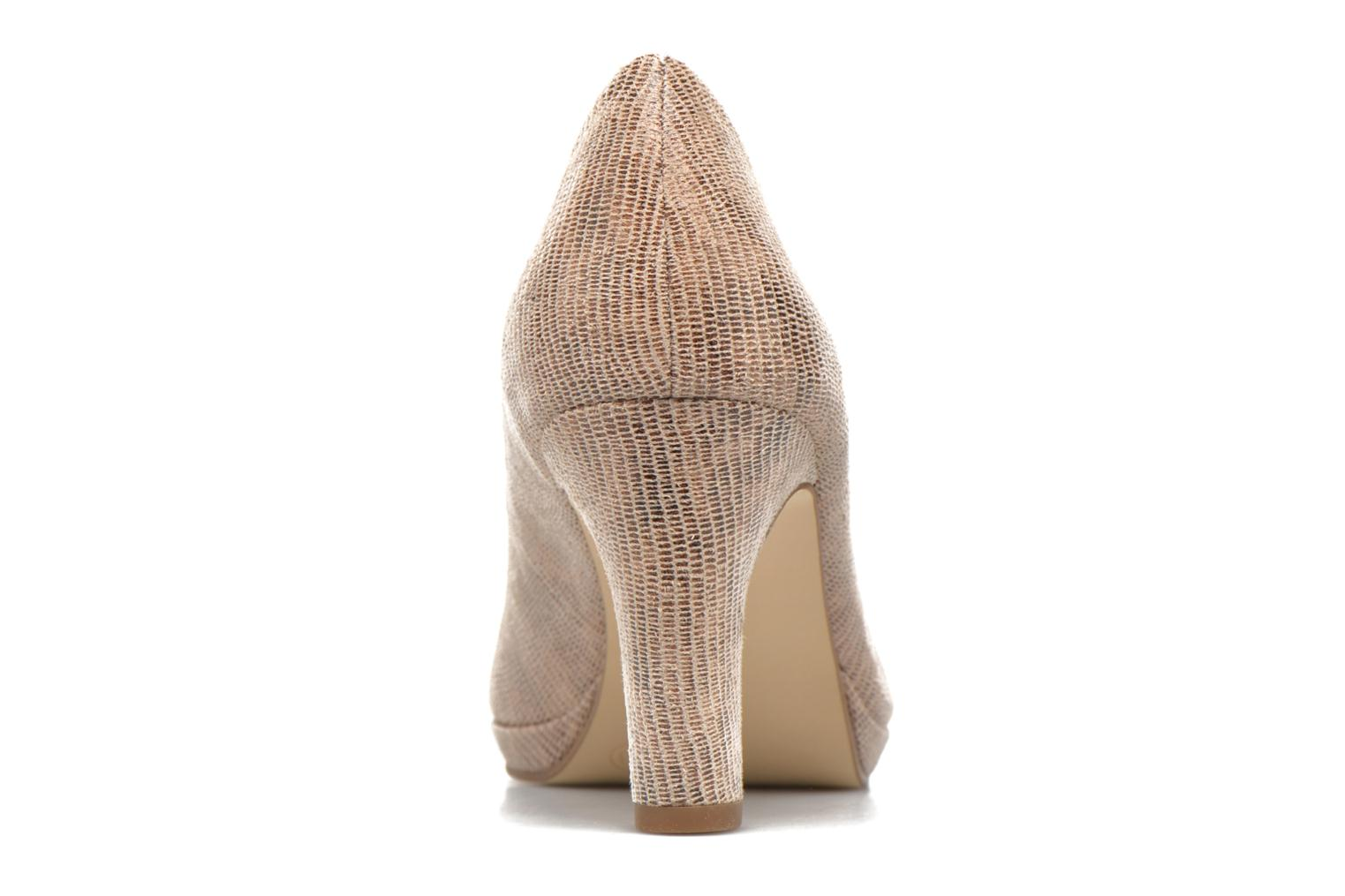High heels Tamaris Hellébore Beige view from the right