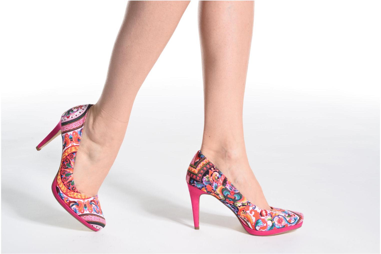 Zapatos de tacón Tamaris Lilas Multicolor vista de abajo