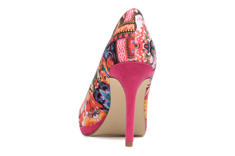 Zapatos de tacón Tamaris Lilas Multicolor vista lateral derecha