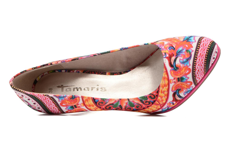 Zapatos de tacón Tamaris Lilas Multicolor vista lateral izquierda