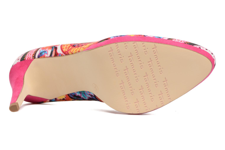 Zapatos de tacón Tamaris Lilas Multicolor vista de arriba