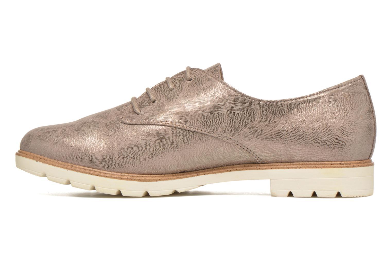 Chaussures à lacets Tamaris Lotie Beige vue face
