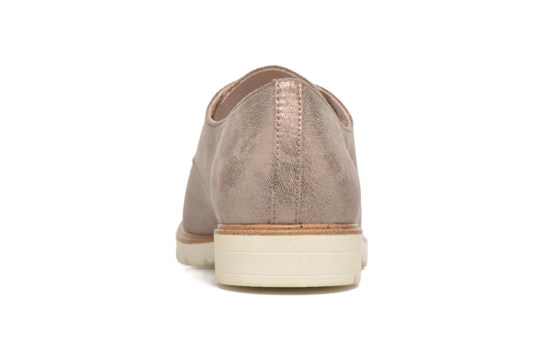 Chaussures à lacets Tamaris Lotie Beige vue droite