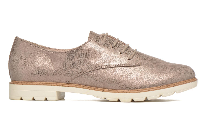 Chaussures à lacets Tamaris Lotie Beige vue derrière