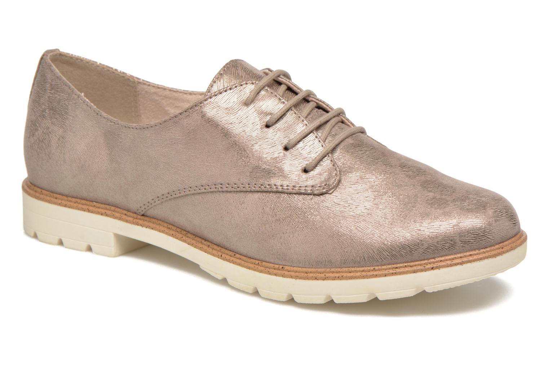 Chaussures à lacets Tamaris Lotie Beige vue détail/paire