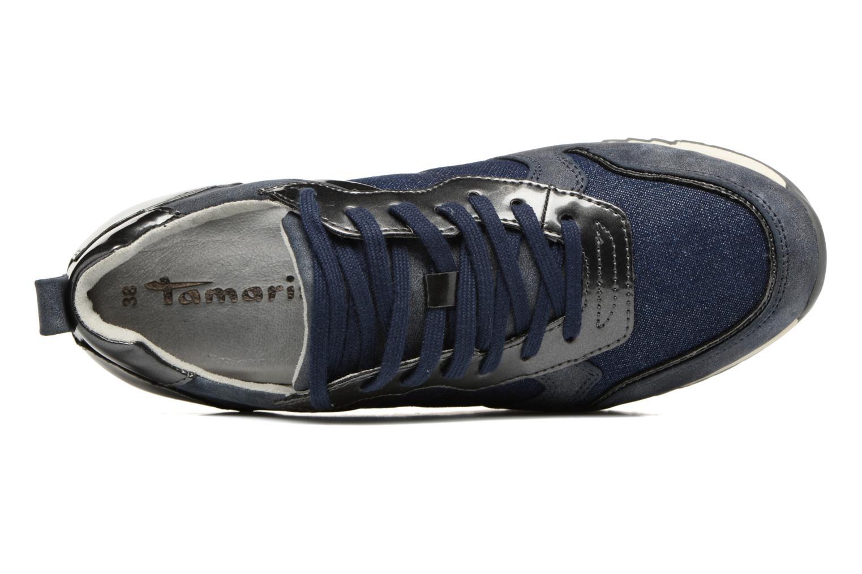 Sneakers Tamaris Mimosa Blauw links