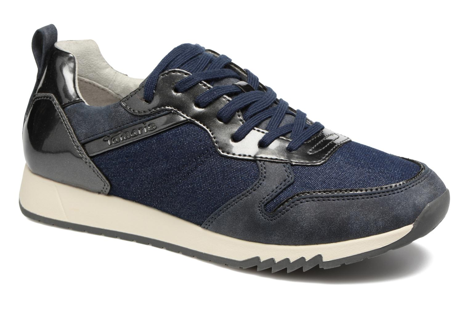 Trainers Tamaris Mimosa Blue detailed view/ Pair view