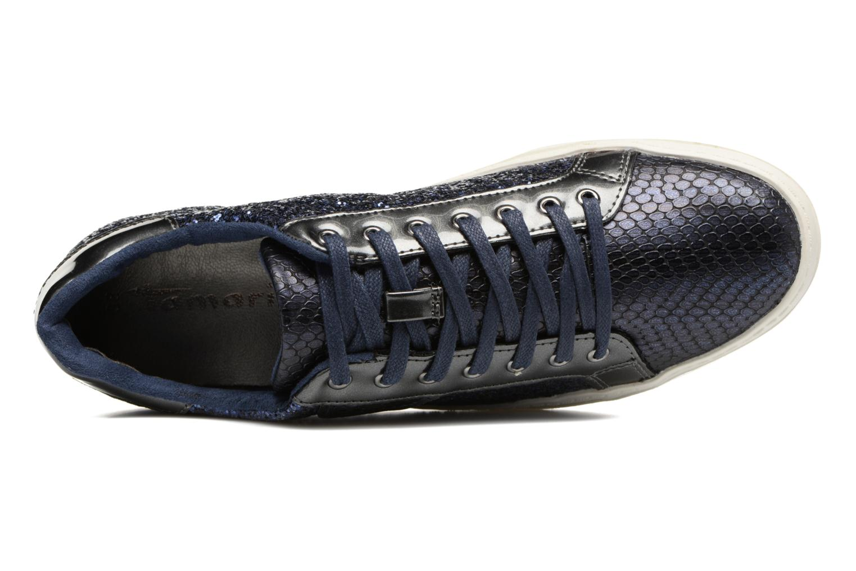 Sneakers Tamaris Narcisse Blauw links