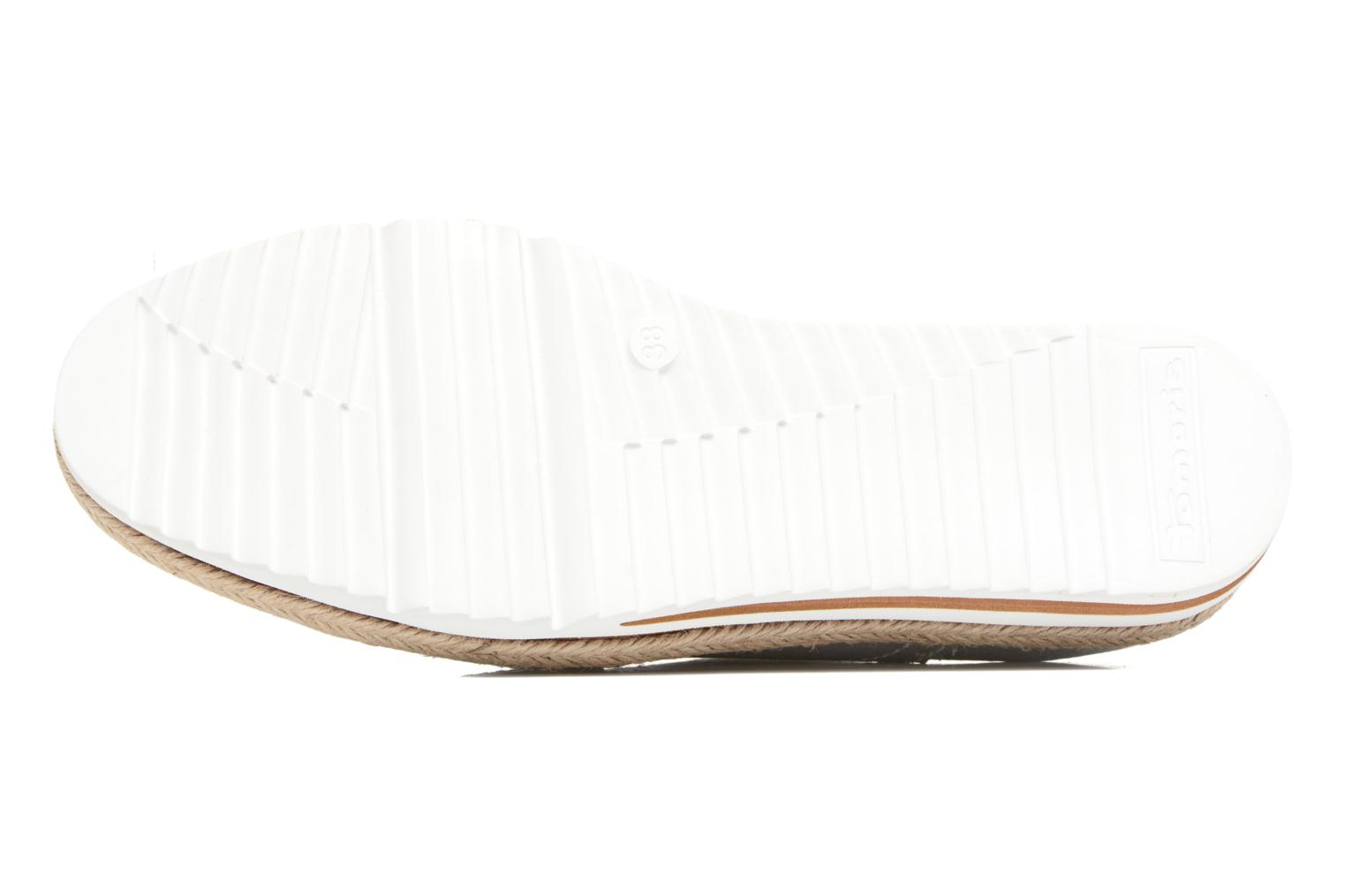 Lace-up shoes Tamaris Pensée Silver view from above