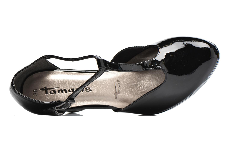 Escarpins Tamaris Pivoine Noir vue gauche
