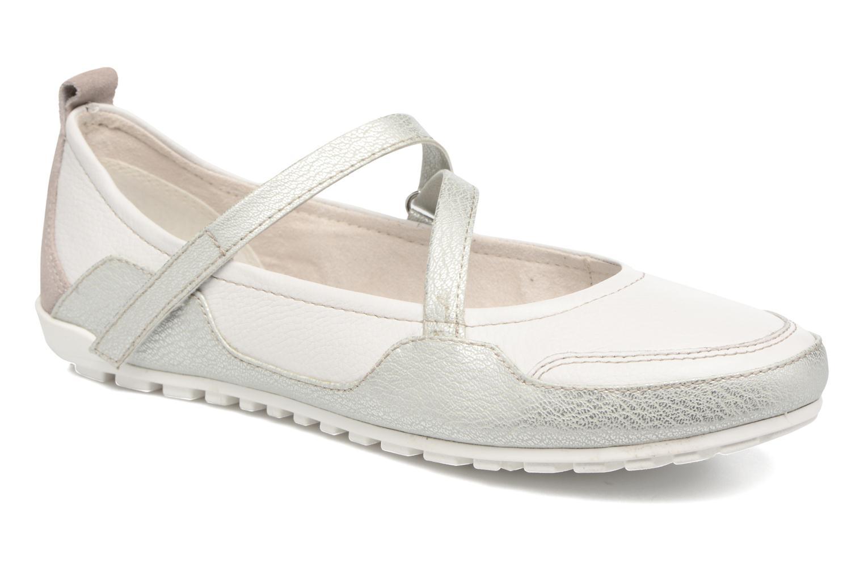 Grandes descuentos últimos zapatos Tamaris Calla (Blanco) - Bailarinas Descuento