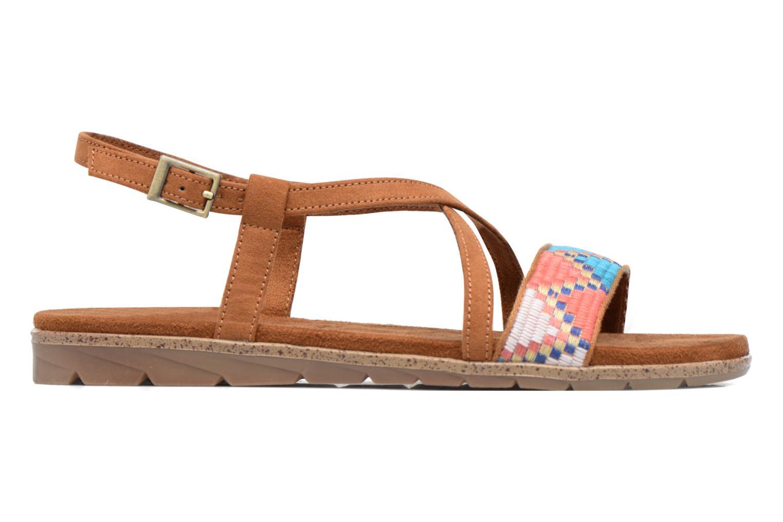 Sandales et nu-pieds Tamaris Mélisse Marron vue derrière