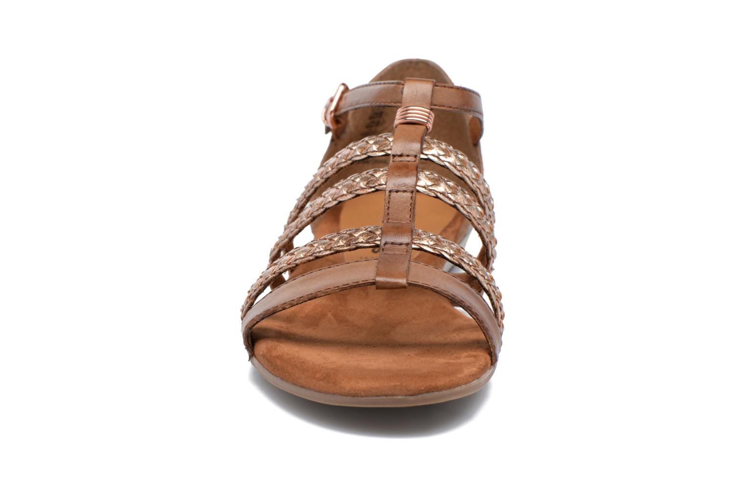 Sandals Tamaris Muscari Brown model view