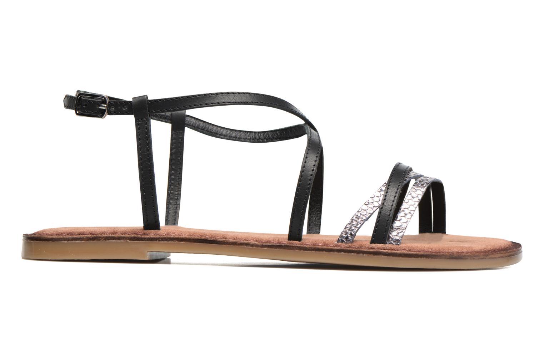 Sandales et nu-pieds Tamaris Cabaret Noir vue derrière