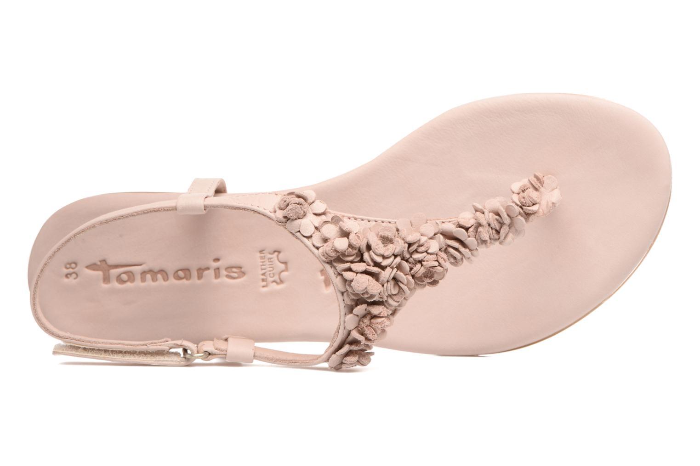 Sandales et nu-pieds Tamaris Sanve Rose vue gauche