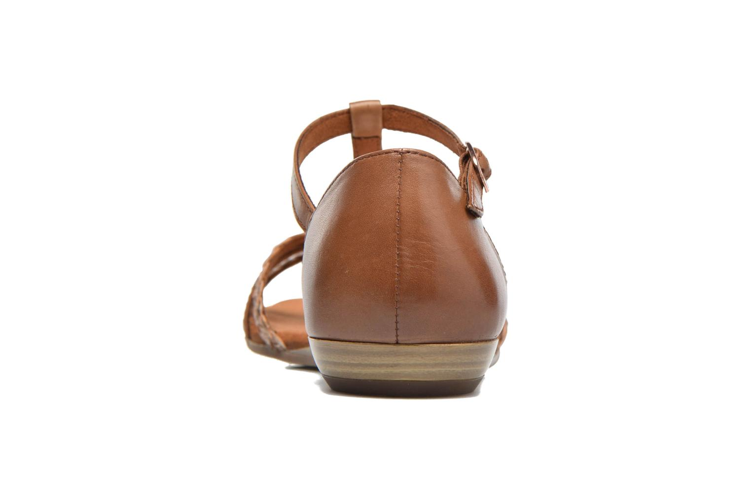 Sandals Tamaris Carthame Brown view from the right