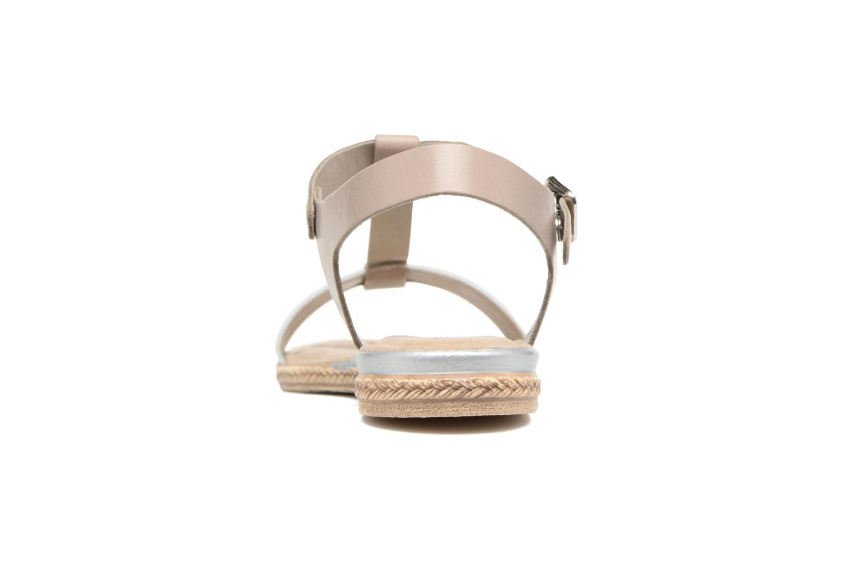 Sandales et nu-pieds Tamaris Silène Gris vue droite