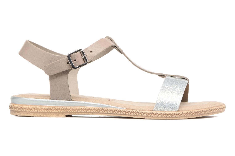 Sandales et nu-pieds Tamaris Silène Gris vue derrière