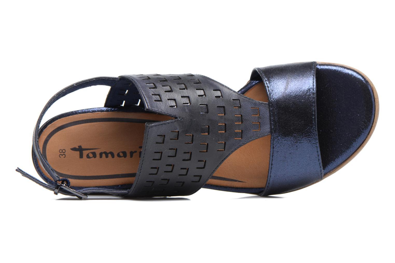 Sandales et nu-pieds Tamaris Solidage Bleu vue gauche